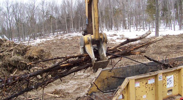 Ewalds logging and landclearing orange county ulster for Demolition wood for sale